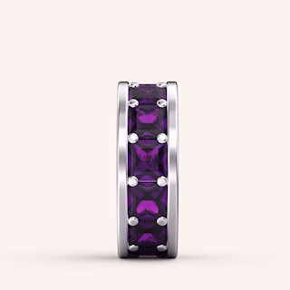 Purple Spacer Charm - Color