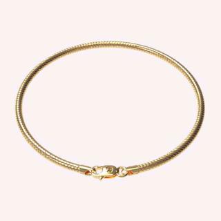 Serrated Splendour Bracelet - Gold Chains