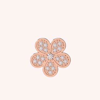 The Sparkling Flower Charm - Charms