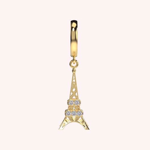 The Magnificient Eiffel Tower Charm - Hanging Charms