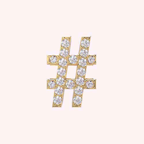 #HashtagCharm - Alphabets