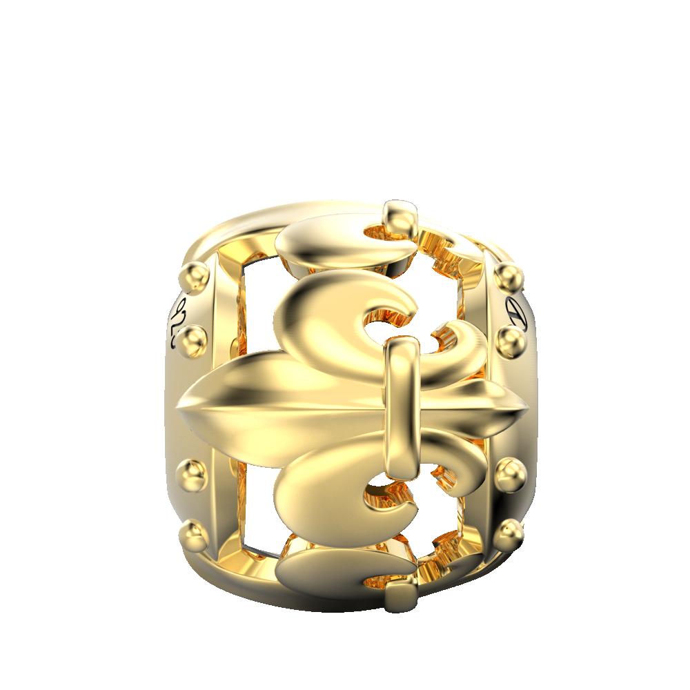 Royal Lily Flower Charm