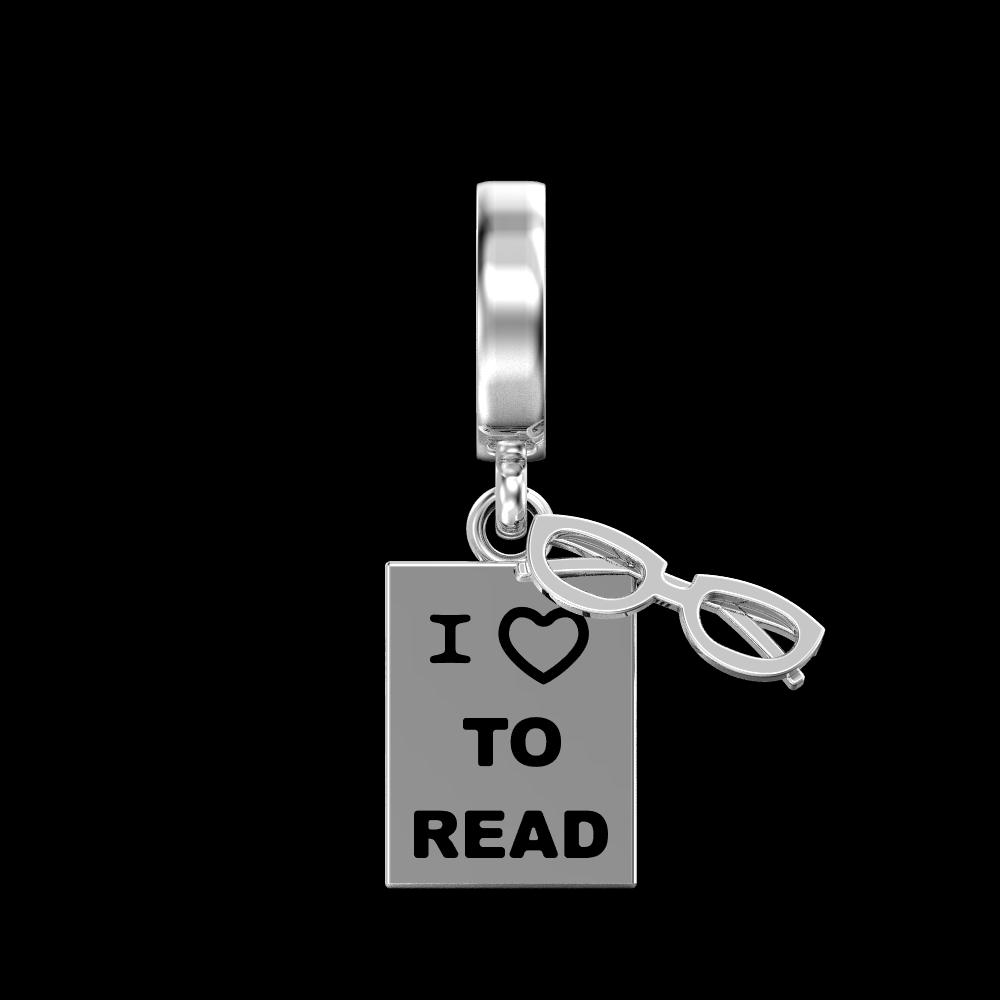 The Bookworm Charm