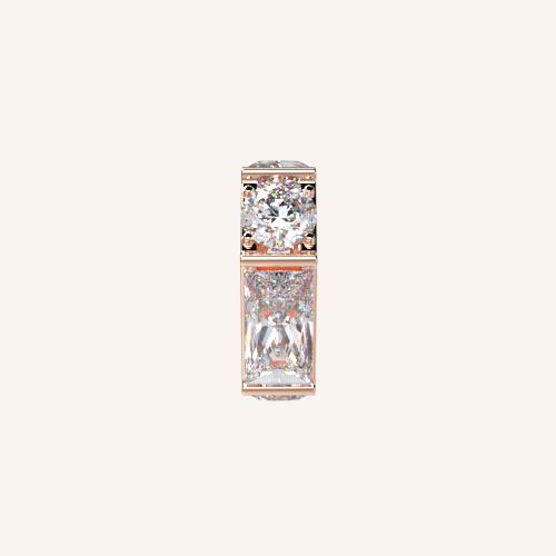 Enchanting White Crystal Spacer
