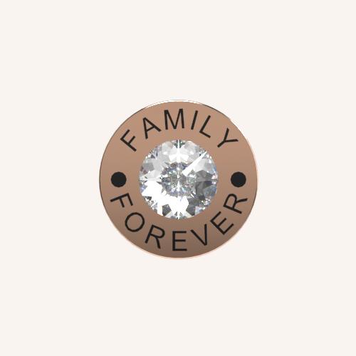 Family Forever Charm