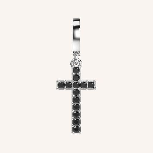 Keep The Faith Cross Charm