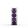 Purple Spacer Charm