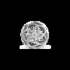 Shimmering Flower Bead Charm