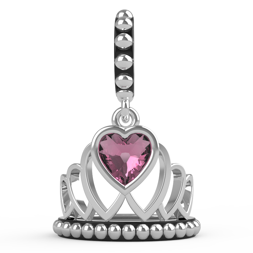 The Princess Crown Charm