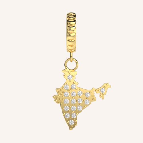 Love My India Charm