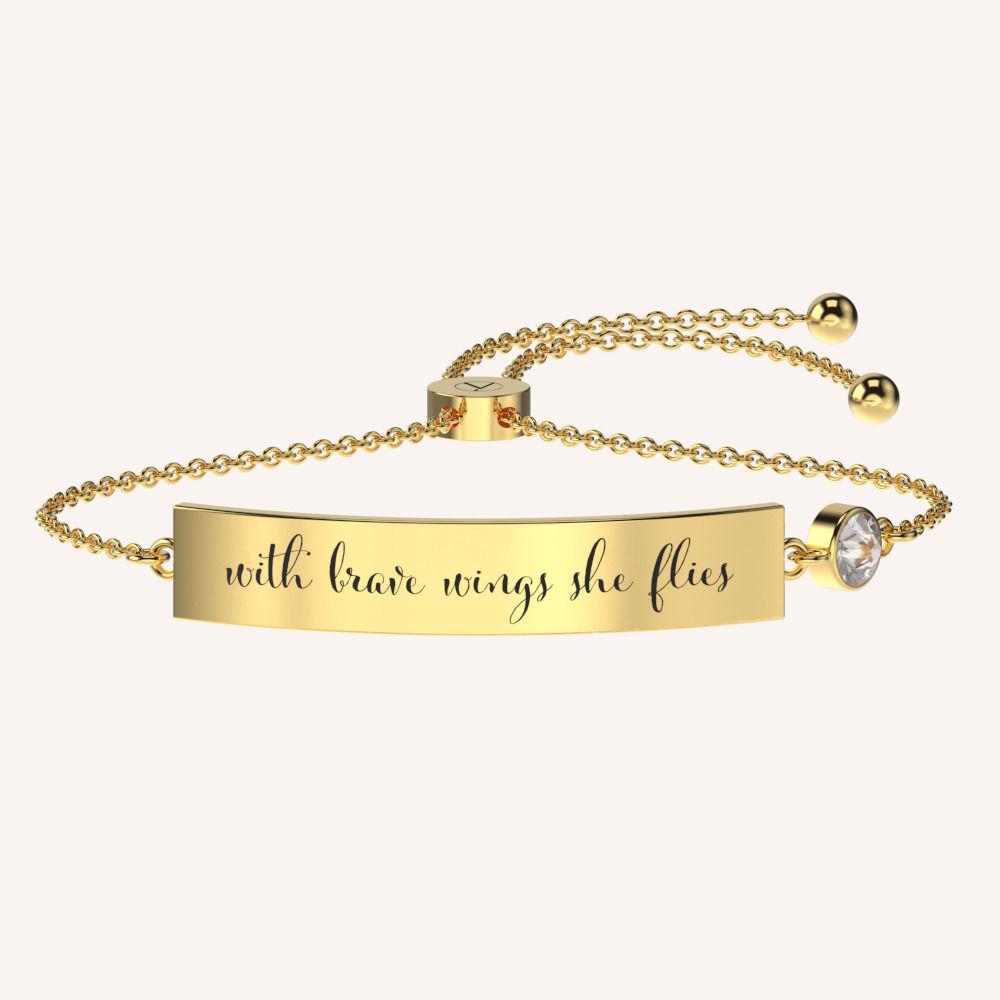Being Brave Bracelet